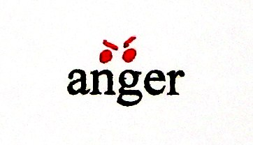 "Key Word Symbol – ""anger"" 